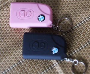 宝马007型钥匙扣|女子防身电棍